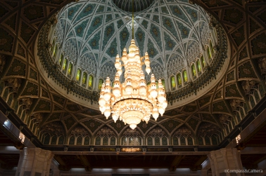 A sight to behold in Oman's Sultan Qaboos Grand Mosque