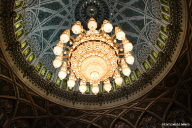 Sultan Qaboos Grand Mosque chandelier