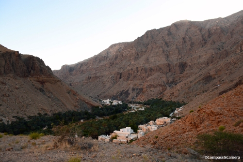 View from our camp in Wadi Tiwi