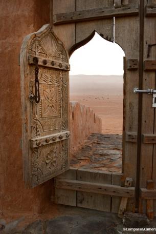 Door to the desert