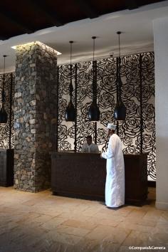 Reception at the Alila Jabal Akhdar
