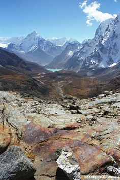 Cho La Pass to Ama Dablam