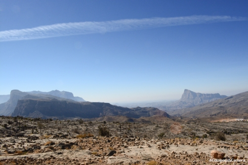 Into the Al Hajar Mountains