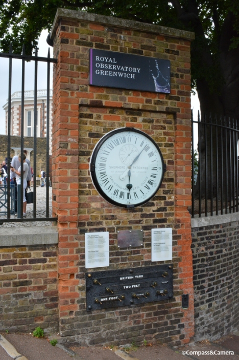 Greenwich Mean Time ticking away
