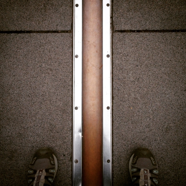 East and west of the Prime Meridian