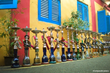 Hookahs on Haji Lane