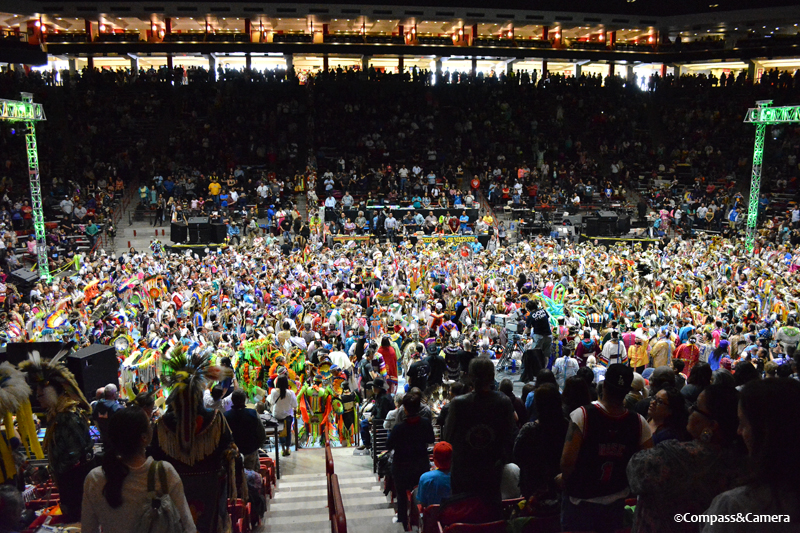 Gathering of Nations Grand Entry