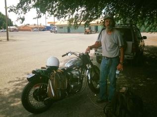 Cool bike, dude.
