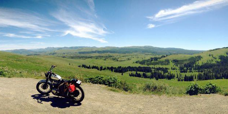 Woon Chi Rides the Western U.S.