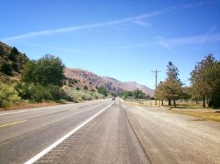 Road to Lake Tahoe