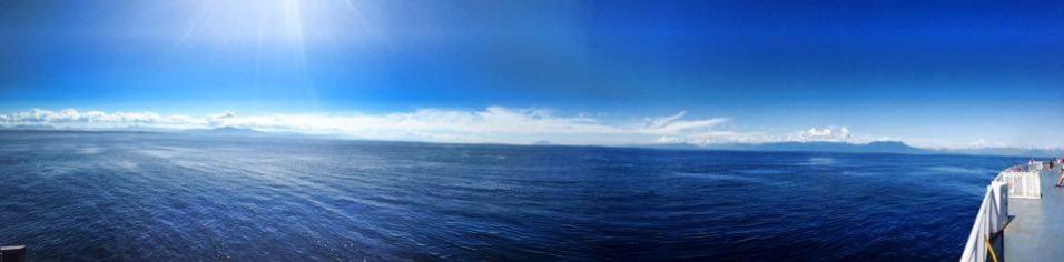 Ferry to Tofino
