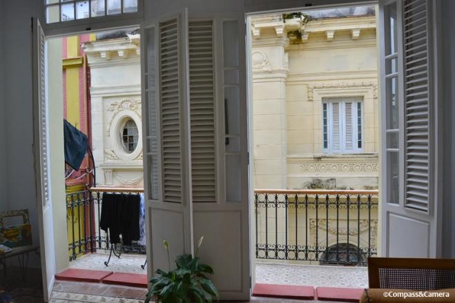Parlor balcony