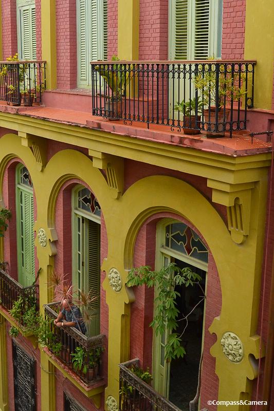 View across the street in Havana