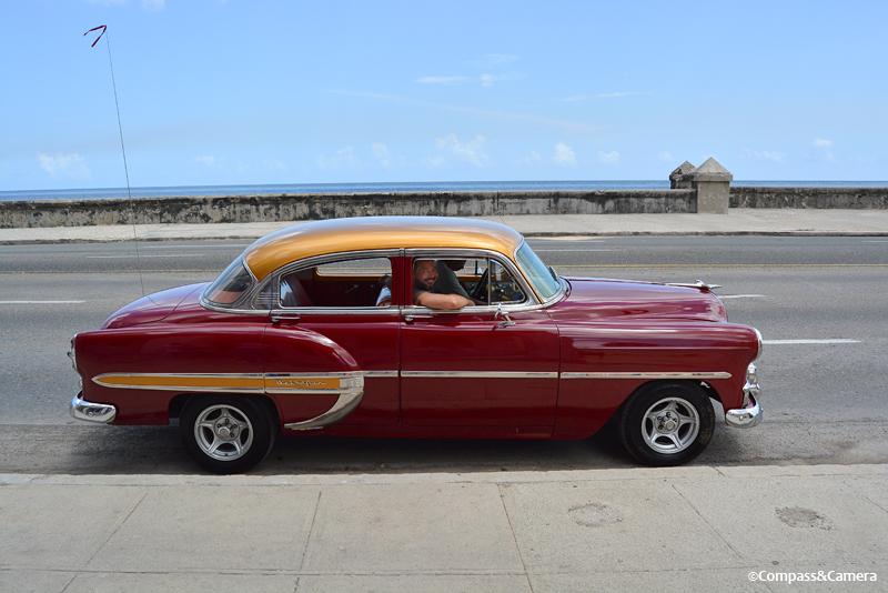 Our sweet old ride in Havana