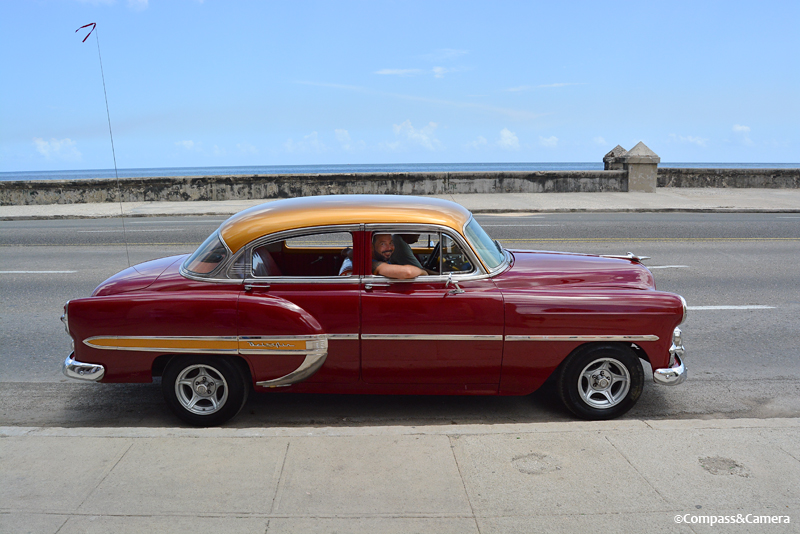 Our sweet old ride in Havana