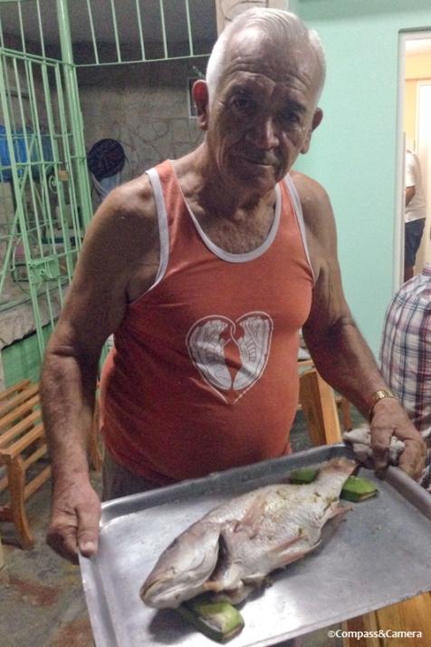 Adalberto and his fish