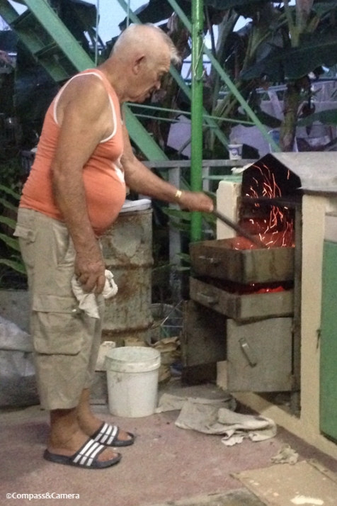A Cuban barbecue