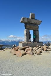 Inuksuk at Top of the World Summit :: Whistler, BC