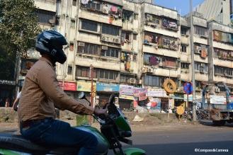 Rickshaw through Mumbai