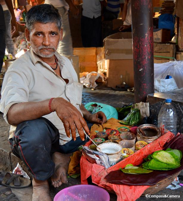 Betel nut seller, Crawford Market, Mumbai