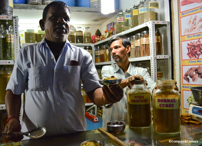 Crawford Market Spice Seller