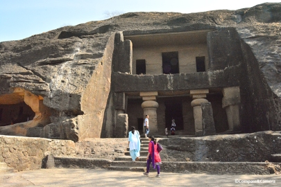 Cave 1 : Kanheri Caves, Mumbai India
