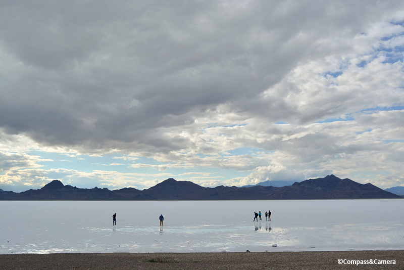 Edge of the Bonneville Salt Flats