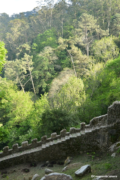 Outer wall of Castelo dos Mouros :: Sintra, Portugal
