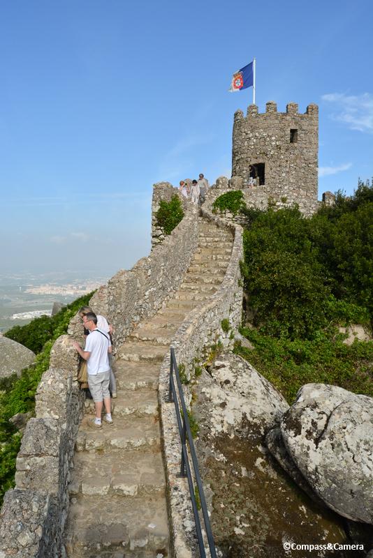 The Castle Keep, Castelo dos Mouros :: Sintra, Portugal