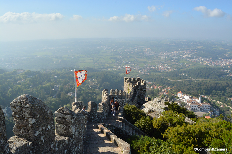 The Toyal Tower :: Castelo dos Mouros :: Sintra, Portugal