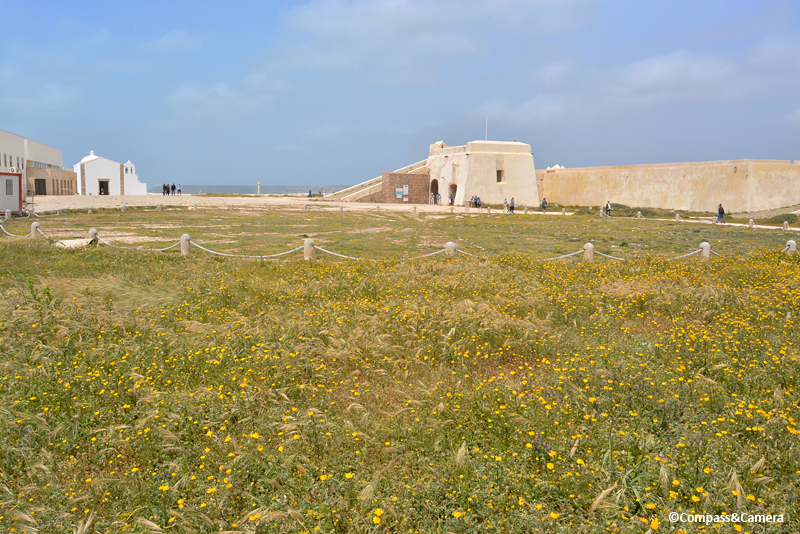 The Rose Compass, Sagres Fortress