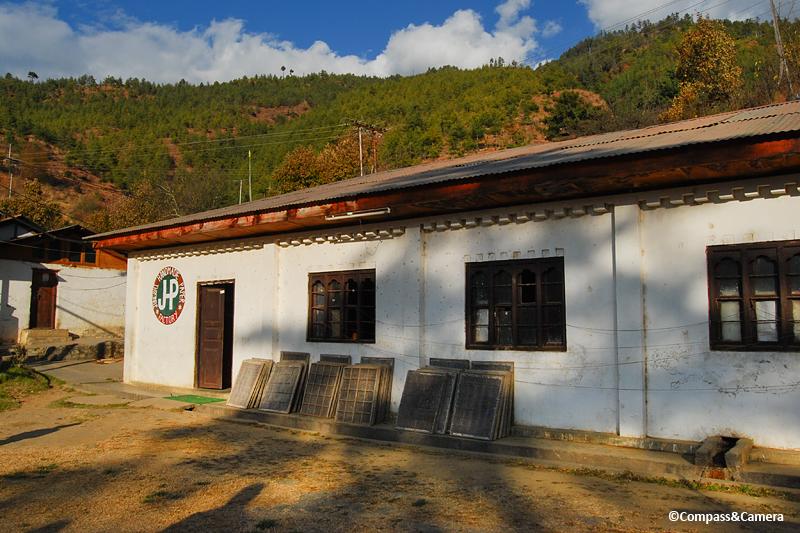 Jungshi Handmade Paper Factory, Bhutan