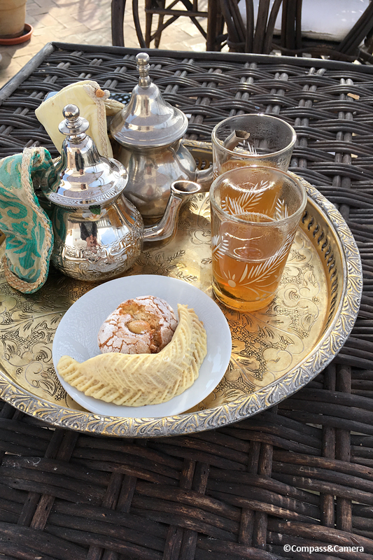 Mint tea upon arrival :: Tangier, Morocco
