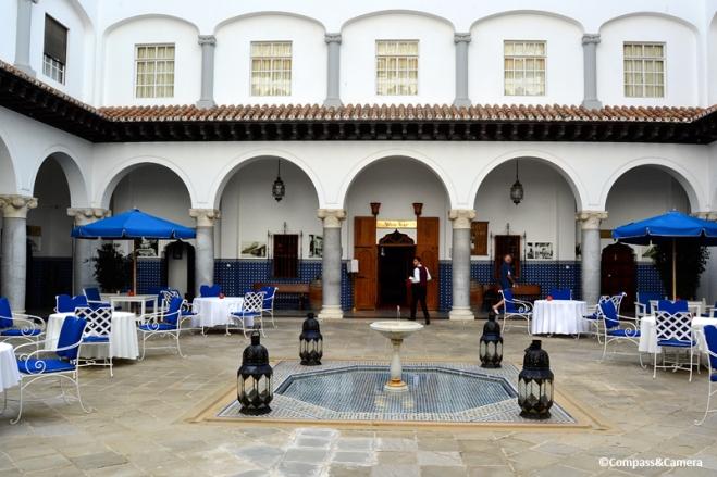 El-Minzah Hotel :: Tangier, Morocco