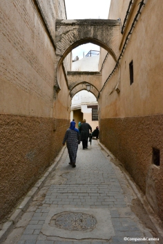 Path to the tannery :: Fez, Morocco