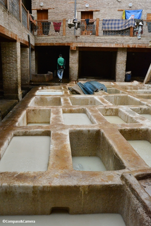 Tannery soaking tubs