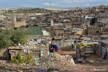 View over the tannery :: Fez, Morocco