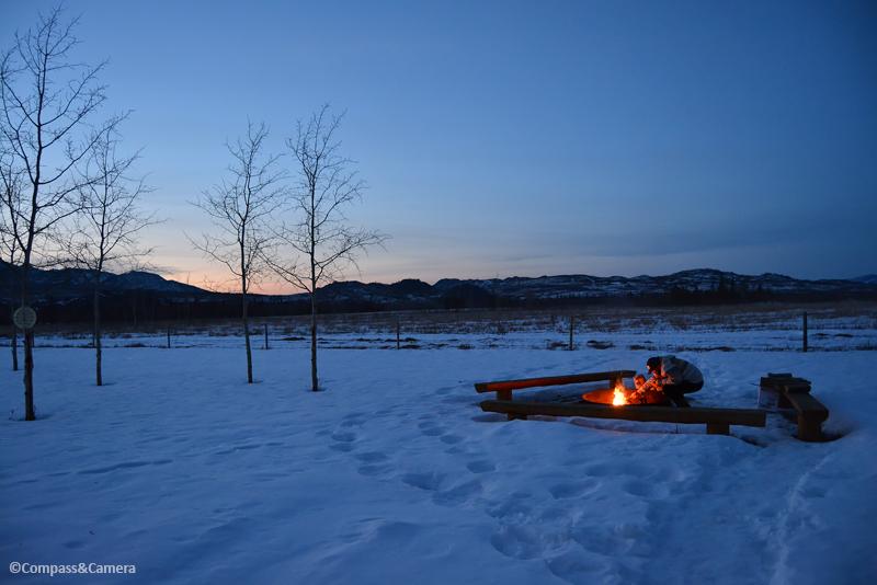 Sunset firestarter