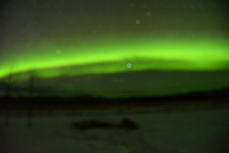First attempt at shooting the Northern Lights