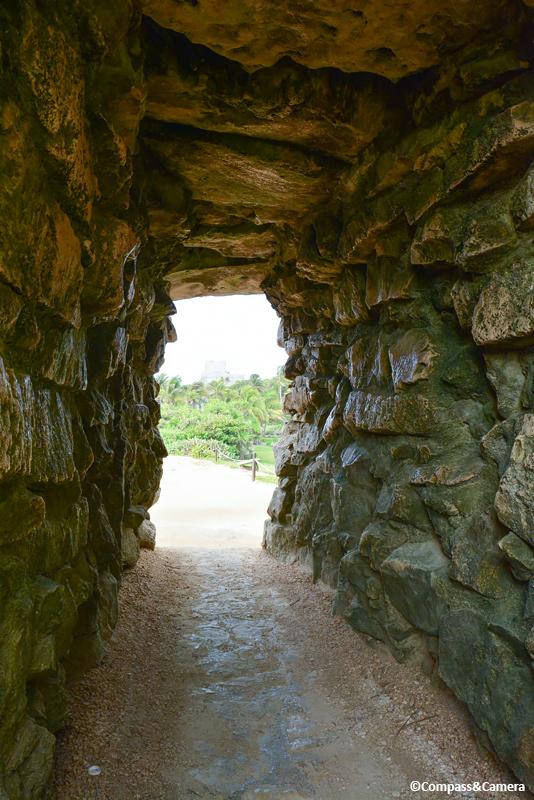Doorway to the Tulum Ruins