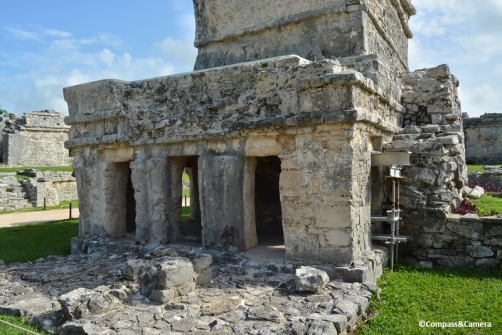 Temple of the Frescoes :: Tulum Ruins