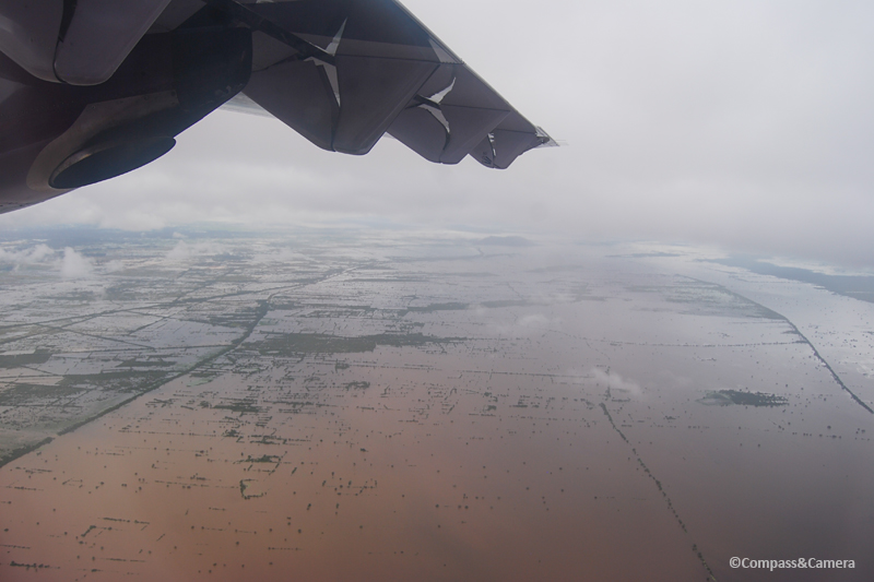 Above Cambodia after the season's heaviest night of rainfall