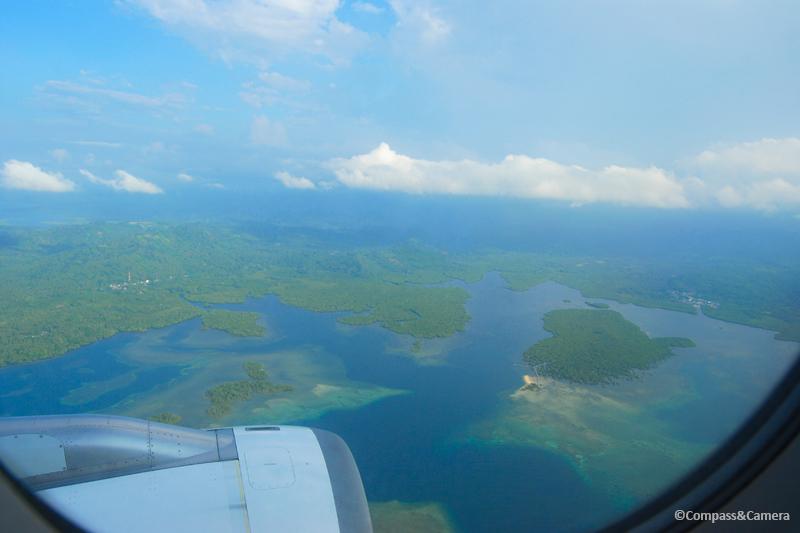 Above Sulawesi