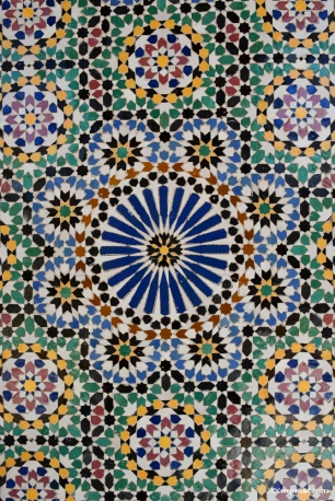 4-Fold Islamic Geometric Design