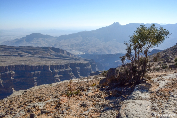 Wadi Nakhr, the Grand Canyon of Oman