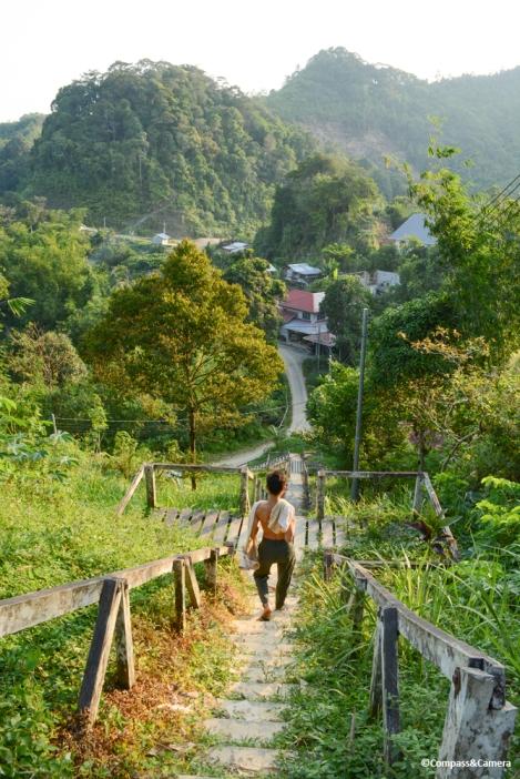 Kampong Sadir, a Bidayuh village
