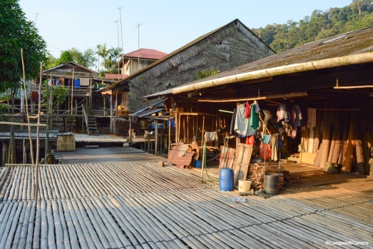 Traditional longhouse