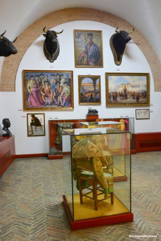 Bullfighting Museum Interior