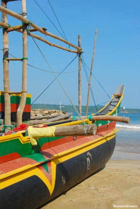 Boat at Unawatuna