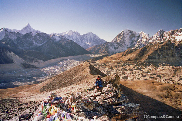 The Khumbu Valley and glacier field
